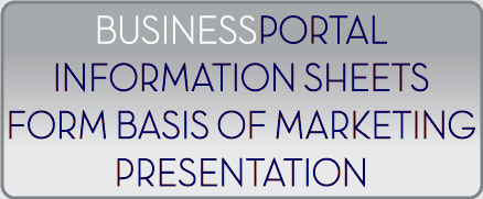 Use BusinessPortal-SA as the basis of the marketing presentations